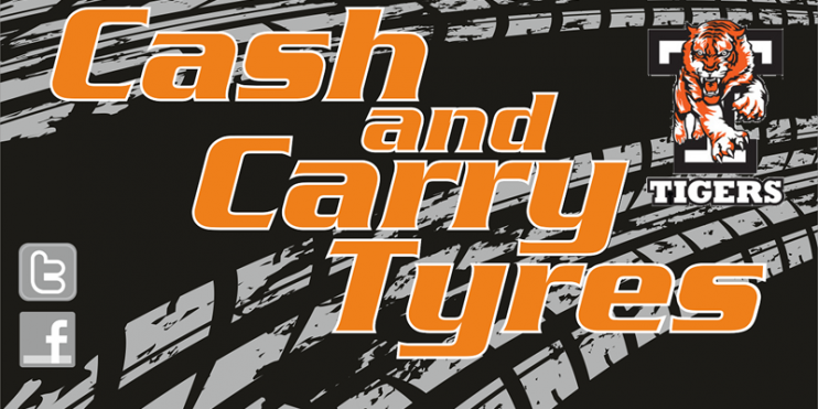 Cash and Carry Tyres Black 800w