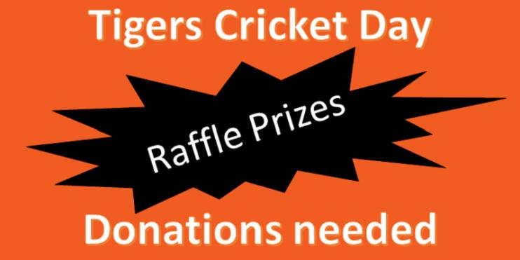 raffle prize donations