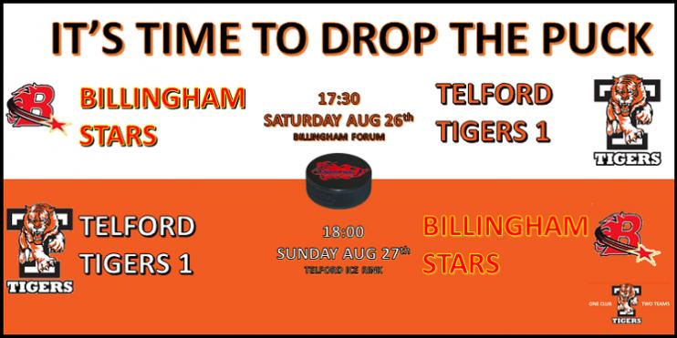 Billingham Telford 1 Friendly