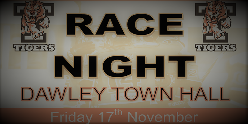 Tigers Race Night