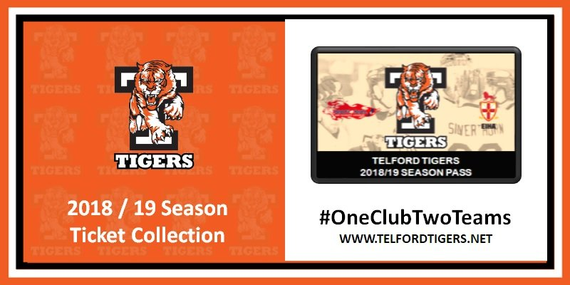 2018-19 Season Ticket Collection 21082018