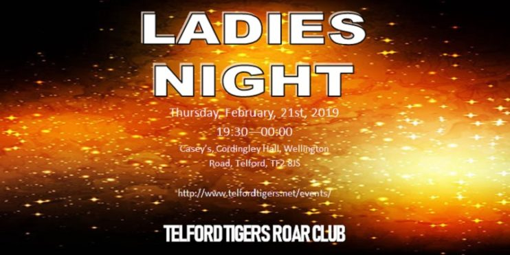 Ladies Night Website Banner