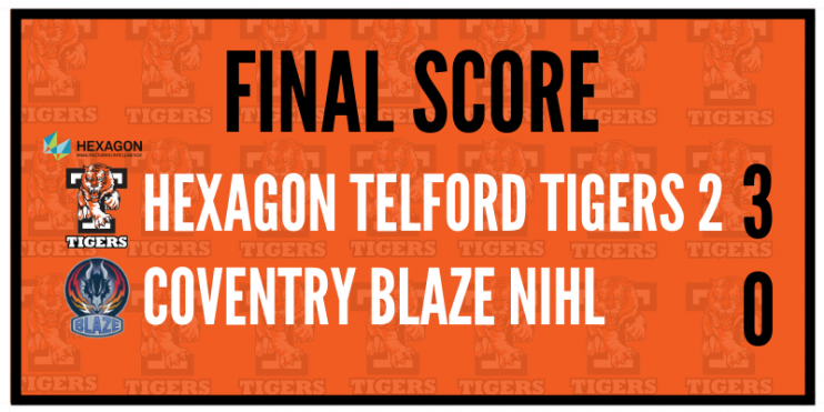 Another blazing win for Hexagon Telford Tigers 2! – Telford