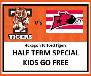 Tigers vs Racers - Kids go Free