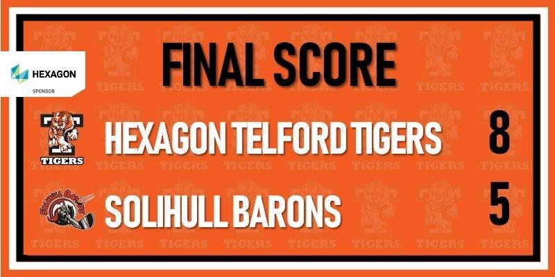 telford tigers vs Solihull barons 30th dec 800w