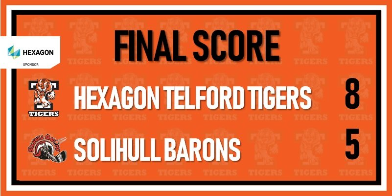 telford tigers vs Solihull barons 30th dec 800w
