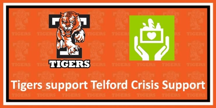 Tigers support Telford Crisis Support