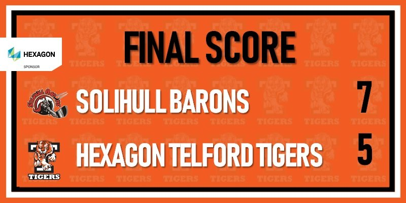 Solihull Barons vs Telford Tigers 23rd mar 800w