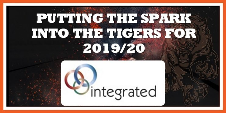 Integrated announced as Tigers sponsors 28-06-2019 800w