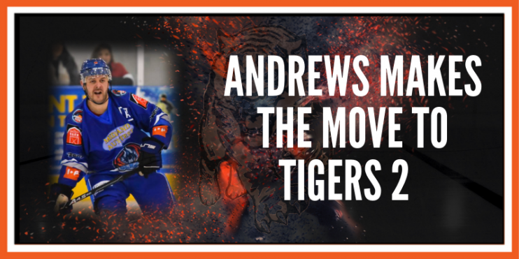 'Adz' Andrews joins Telford Tigers 2