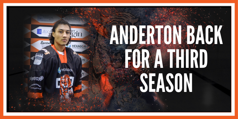 Anderton back for a third season
