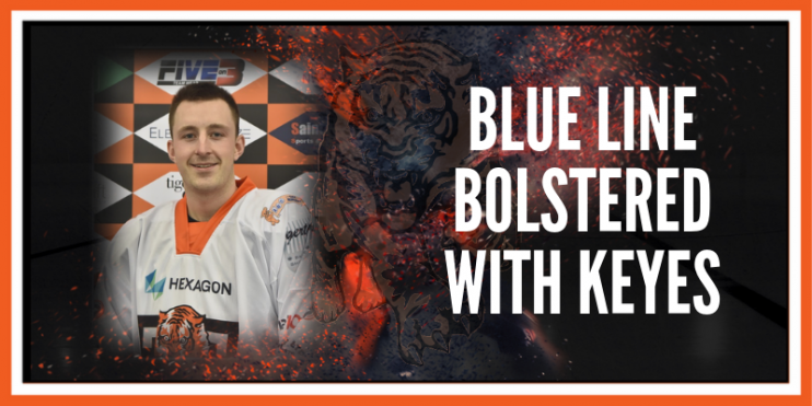 Blue line bolstered with Keyes