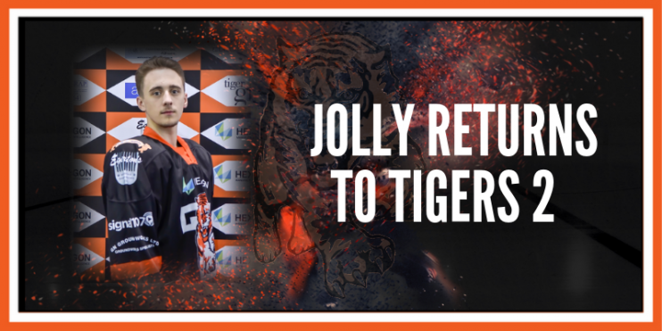 Jordan Jolly returns to Tigers 2