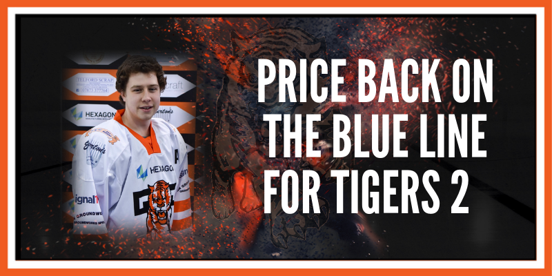 Price back on the blue line for Tigers 2!