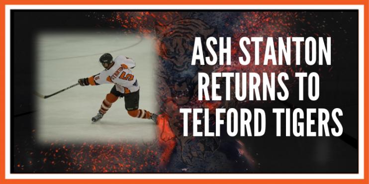 Ash Stanton returns to Telford Tigers