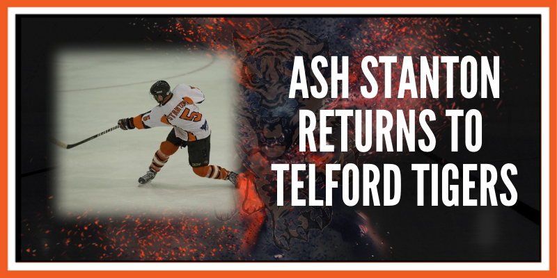 Ash Stanton returns to Telford Tigers