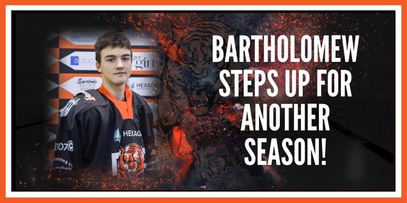 Liam Bartholomew steps up
