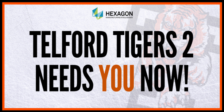 Telford Tigers 2 needs you NOW!
