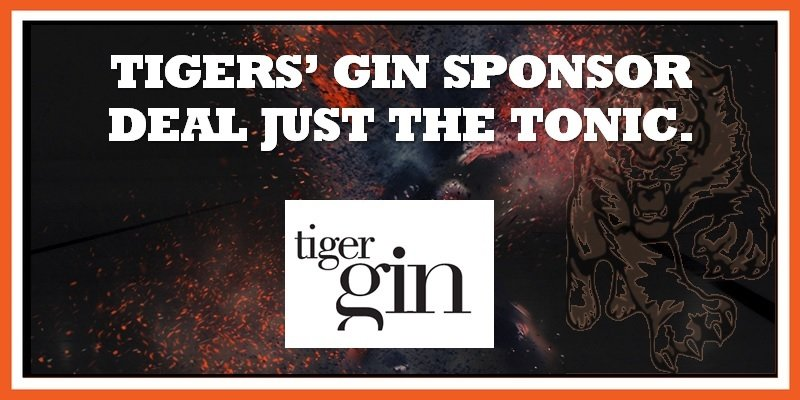 Tiger Gin announced as Tigers sponsor 21092019 800w