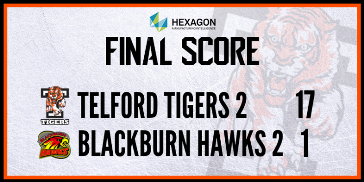 Telford Tigers 2 vs Blackburn Hawks 2