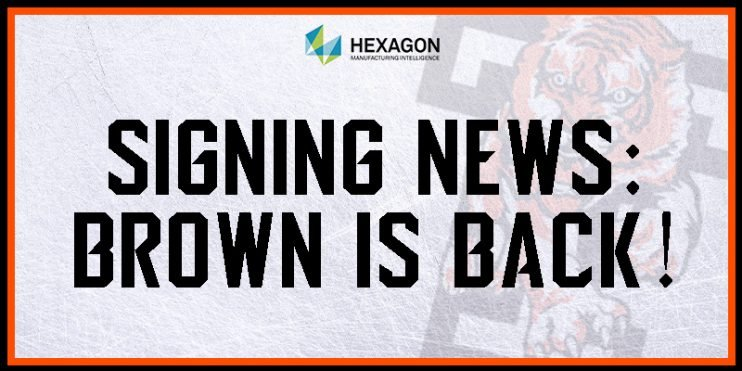 Signing: Brown is back!