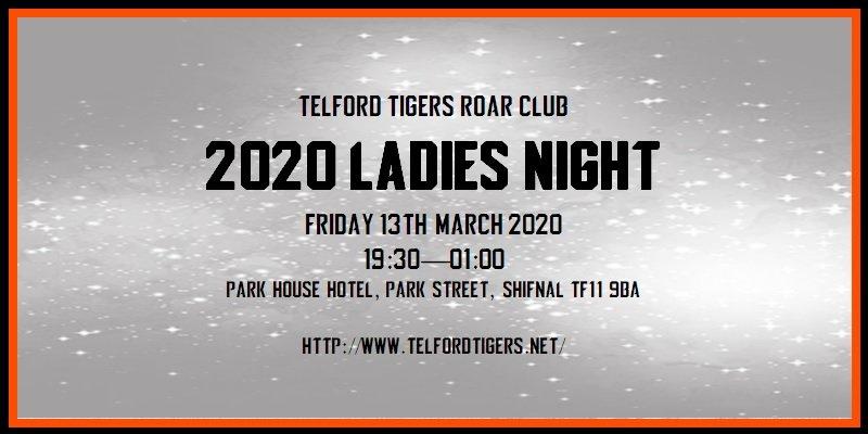 2020 ROAR Club Ladies Night 800w