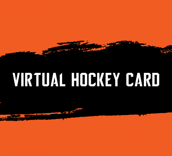 Virtual hockey card