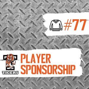 #77 player sponsorship