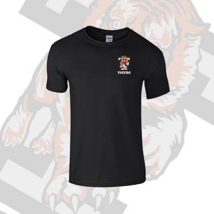 Black T Shirt Small Tiger T