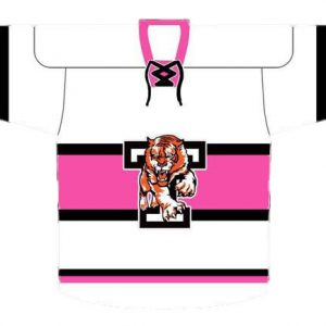 Ladies Pink and White Replica Shirt