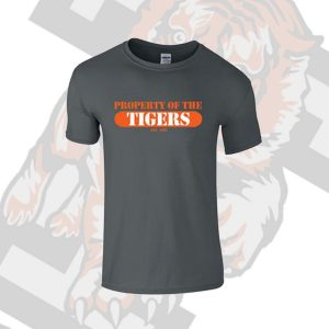 Property of the Tigers Grey TShirt