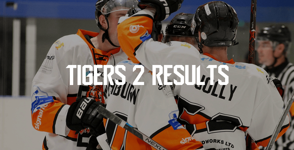 Tigers 2 Results