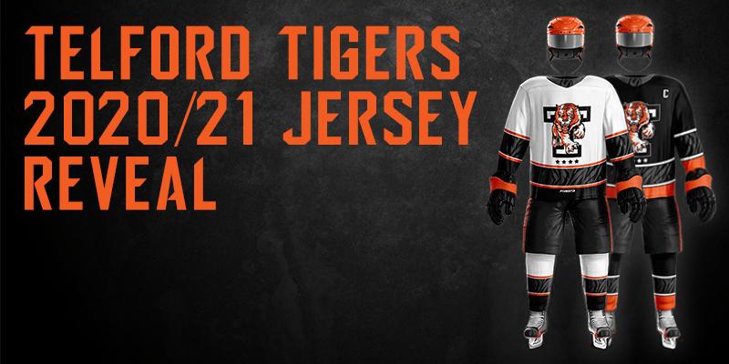 Telford Tigers 2020/21 Jersey Reveal