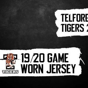 Tigers 2 Game Worn Jerseys