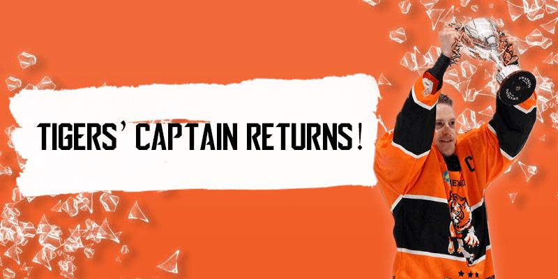 Tigers' Captain Returns