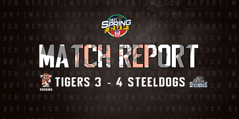 Tigers 3 4 Steeldogs