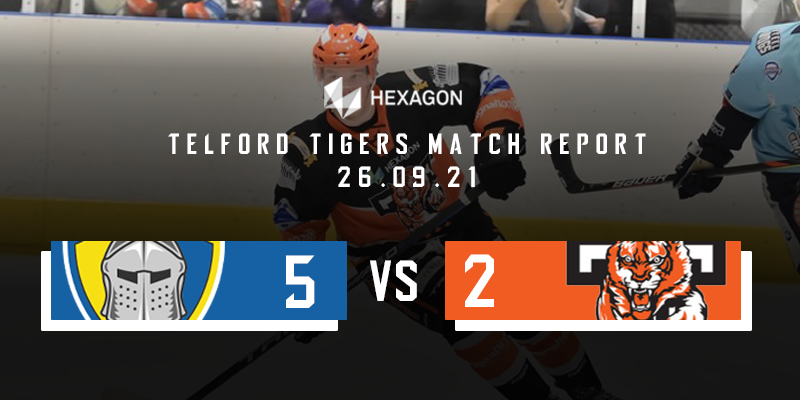 Away Match Report Graphic Knights vs Tigers 26092021