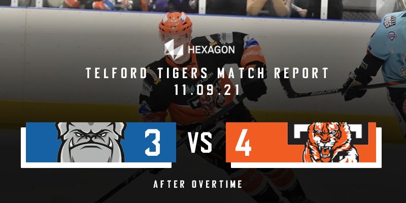 Away Match Report Graphic Steeldogs vs Tigers 11122021