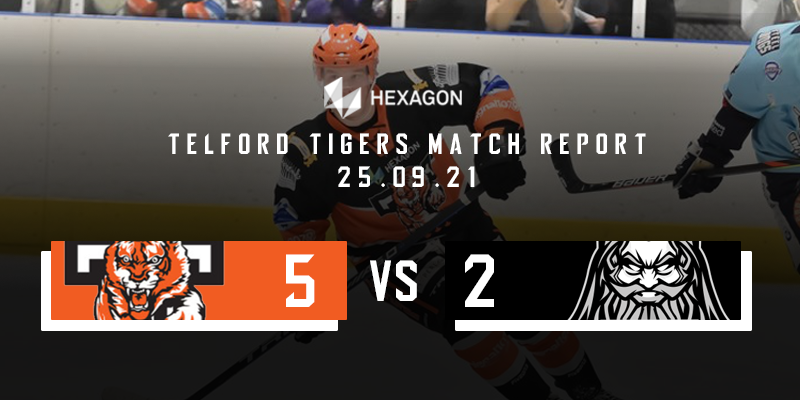 Home Match Report Graphic Tigers vs Lightning 25092021
