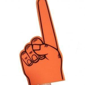 Orange Foam Finger