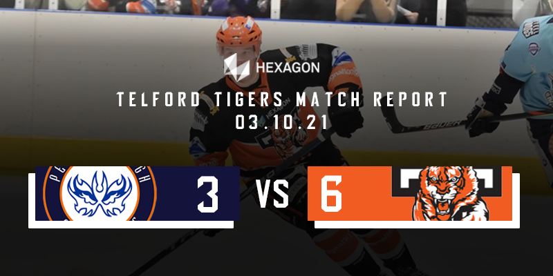 Away Match Report Graphic Phantoms vs Tigers 03102021
