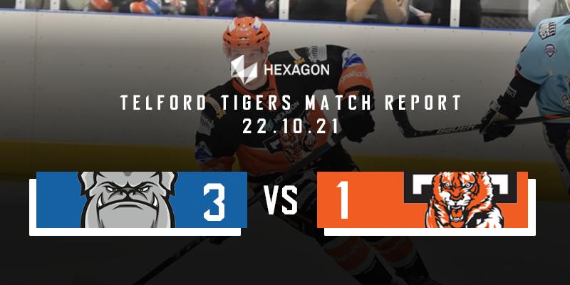 Away Match Report Graphic Steeldogs vs Tigers 22102021