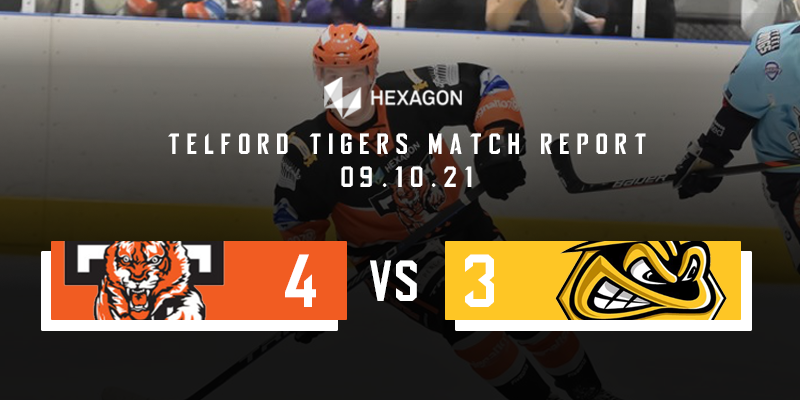 Home Match Report Graphic Tigers vs Bees 09102021