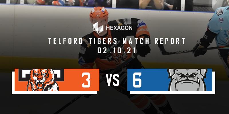 Home Match Report Graphic Tigers vs Steeldogs 02102021