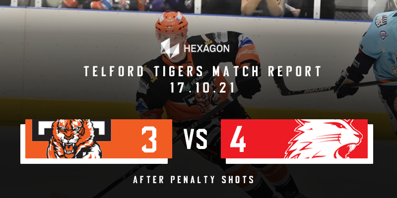 Home Match Report Graphic Tigers vs Wildcats 17102021